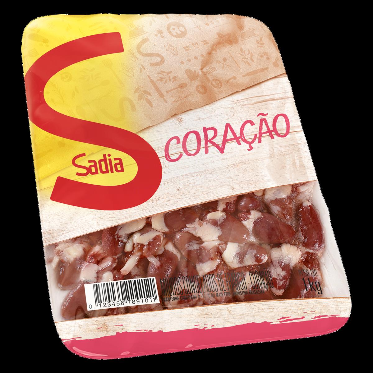 imagem de Coração de Frango Sadia Bandeja 1kg