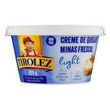 imagem de Creme de Queijo Frescal Tirolez Light 200g