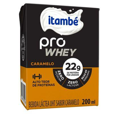 imagem de Bebida Láctea Itambé Pro Whey Caramelo 200ml