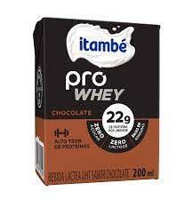 imagem de Bebida Láctea Itambé Pro Whey Chocolate 200ml