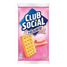 imagem de Biscoito Club Social Salpet Presunto 141g