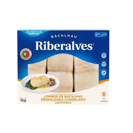imagem de Bacalhau Riberalves Morhua Lombo 1kg