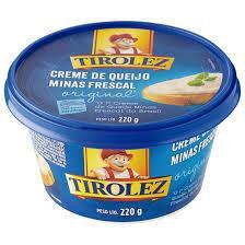 imagem de Creme de Queijo Frescal Tirolez Tradicional 200g