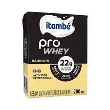 imagem de Bebida Láctea Itambé Pro Whey Baunilha 200ml